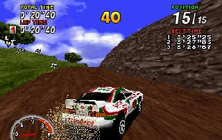 Screenshot Thumbnail / Media File 1 for Sega Rally Championship (E)