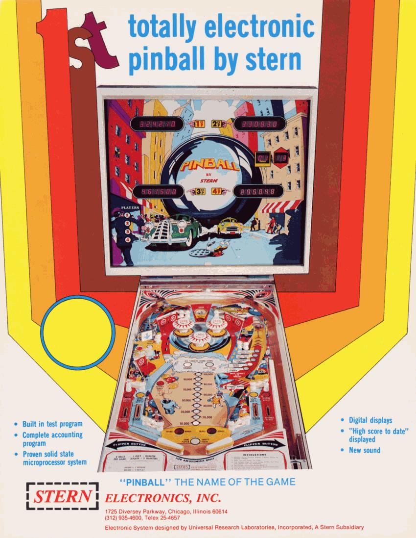 pinball machine emulator