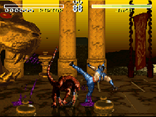 Screenshot Thumbnail / Media File 1 for Killer Instinct (SNES bootleg)