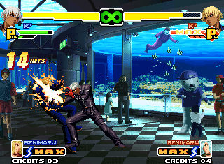 Screenshot Thumbnail / Media File 1 for The King of Fighters 2000 (NGM-2570 ~ NGH-2570)