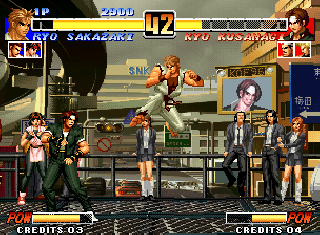 Screenshot Thumbnail / Media File 1 for The King of Fighters '96 (NGM-214)