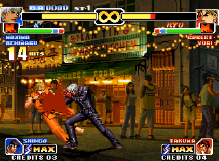 Screenshot Thumbnail / Media File 1 for The King of Fighters '99 - Millennium Battle (NGM-2510)