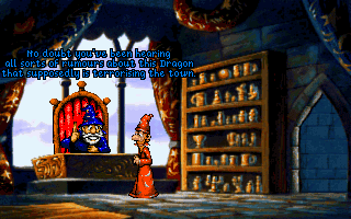 Screenshot Thumbnail / Media File 1 for Discworld (CD DOS, German)