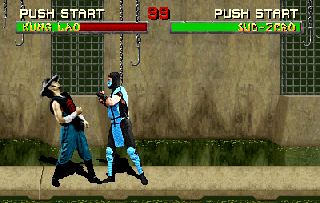 Screenshot Thumbnail / Media File 1 for Mortal Kombat II (rev L1.4)