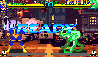 Marvel Super Heroes Vs  Street Fighter (USA 970827) ROM < MAME ROMs