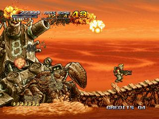 Screenshot Thumbnail / Media File 1 for Metal Slug 3 (NGM-2560)