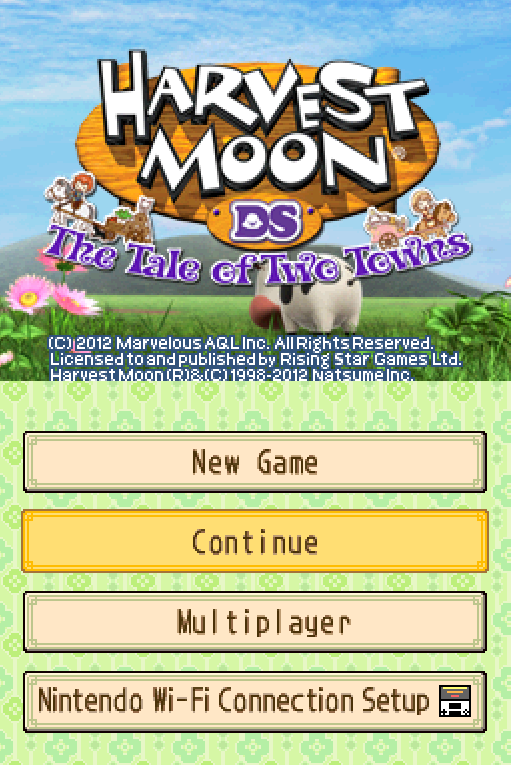 Harvest Moon DS - The Tale of Two Towns (U) ROM < NDS ROMs | Emuparadise