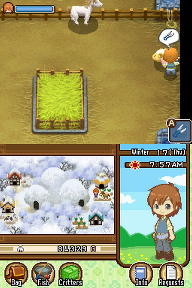 Harvest Moon DS - The Tale of Two Towns (U) ROM