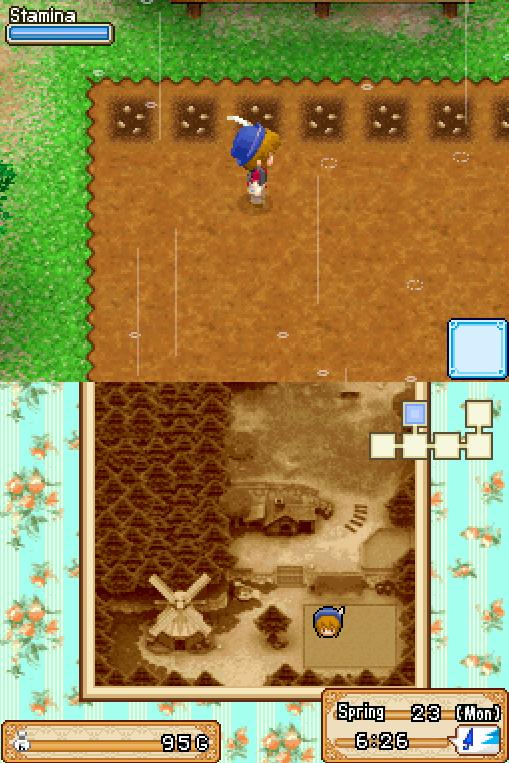 Harvest Moon - Grand Bazaar (E) ROM < NDS ROMs   Emuparadise
