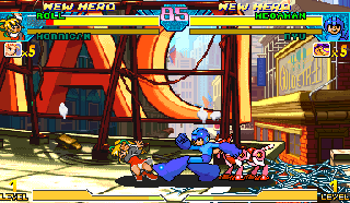 Screenshot Thumbnail / Media File 1 for Marvel Vs. Capcom: Clash of Super Heroes (Brazil 980123)