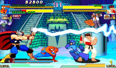 Capcom vs marvel скачать
