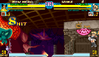 Screenshot Thumbnail / Media File 1 for Marvel Vs. Capcom: Clash of Super Heroes (Euro 980123)