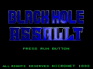 Screenshot Thumbnail / Media File 1 for Black Hole Assault (NTSC-J)