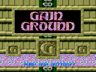 Screenshot Thumbnail / Media File 1 for Gain Ground SX (NTSC-J)
