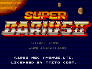 Screenshot Thumbnail / Media File 1 for Super Darius 2 (NTSC-J)