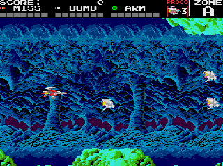 Screenshot Thumbnail / Media File 1 for Super Darius (NTSC-J)