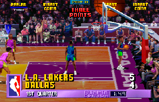Screenshot Thumbnail / Media File 1 for NBA Jam (rev 3.01 04/07/93)