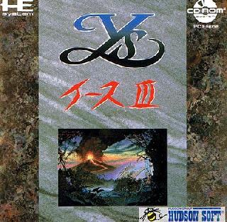 Screenshot Thumbnail / Media File 1 for Ys 3 - Wanderers from Ys (NTSC-J)