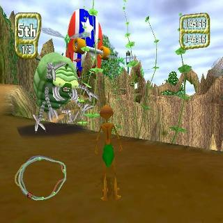 Screenshot Thumbnail / Media File 1 for Antz Extreme Racing (USA)