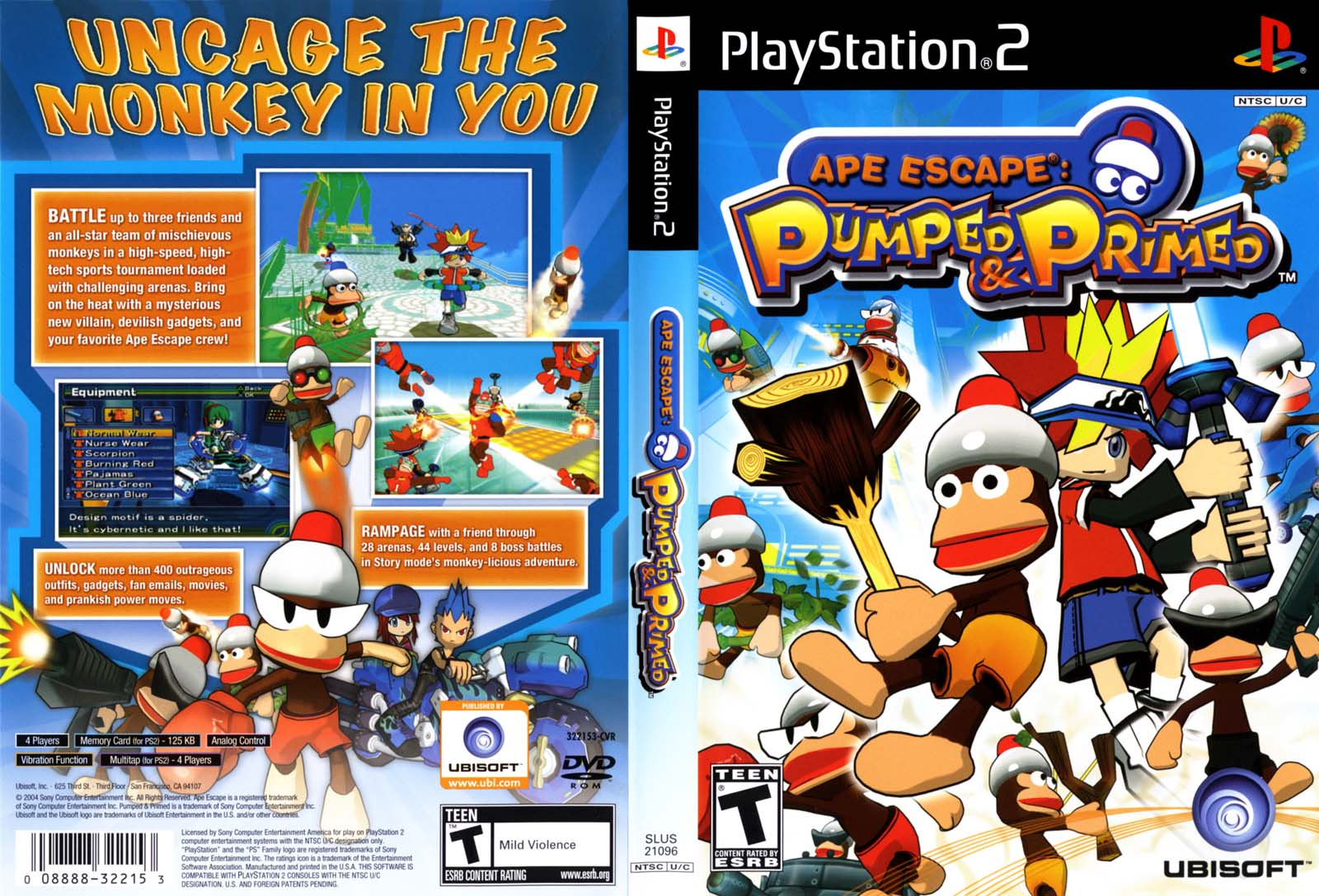 Ape Escape - Pumped & Primed (USA) ISO < PS2 ISOs | Emuparadise