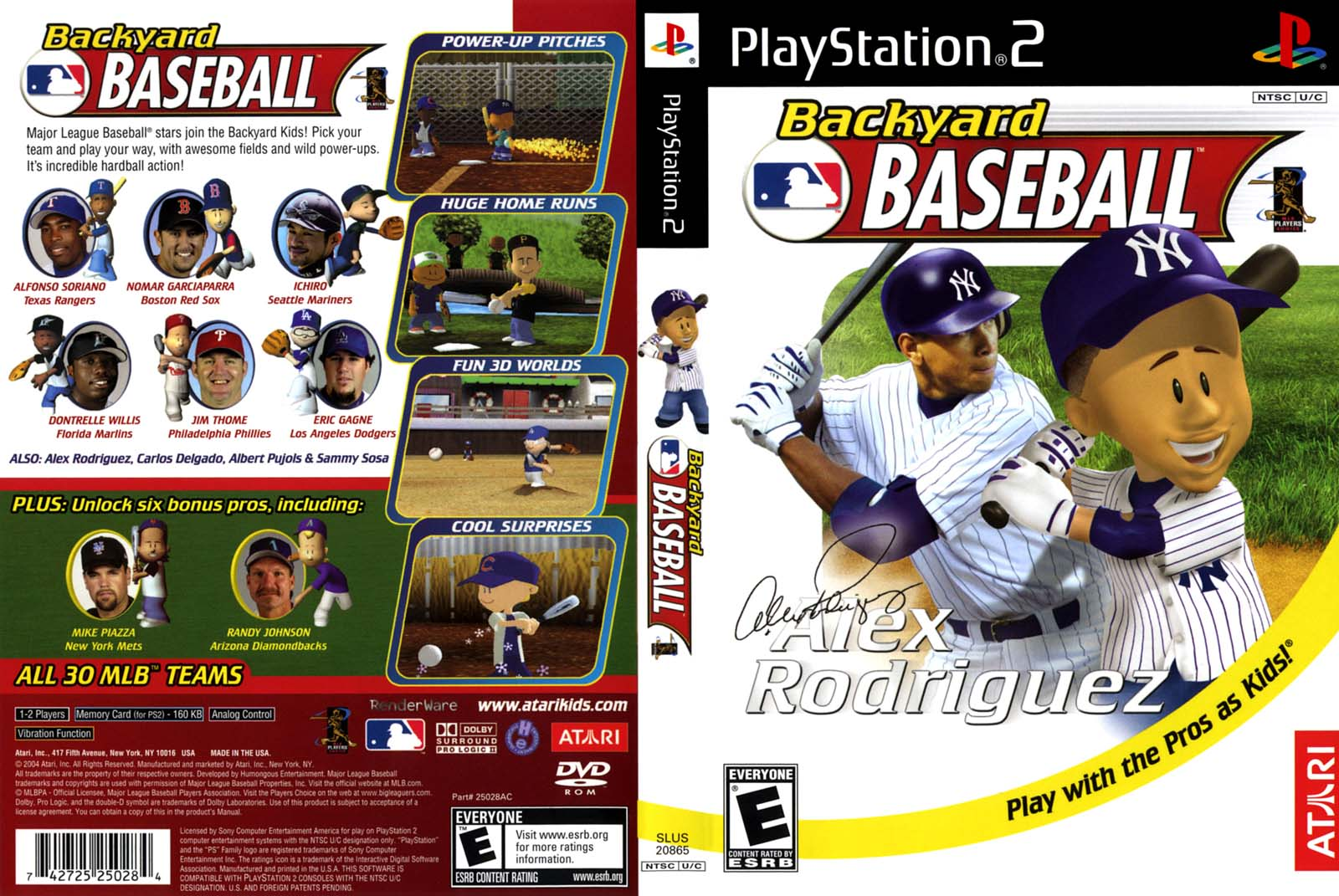 Screenshot Thumbnail / Media File 2 For Backyard Baseball (USA)