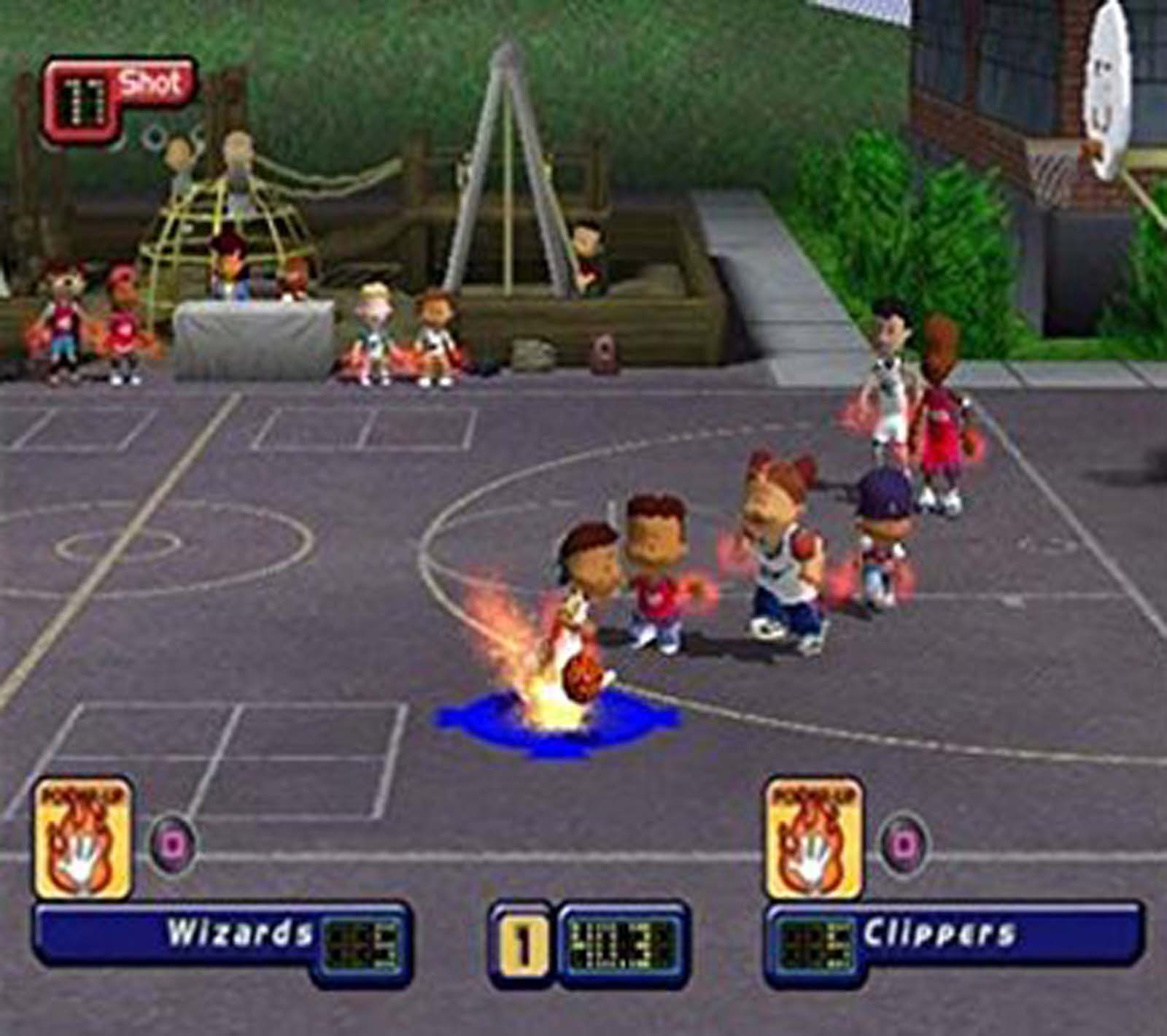 Merveilleux Screenshot Thumbnail / Media File 4 For Backyard Basketball (USA)