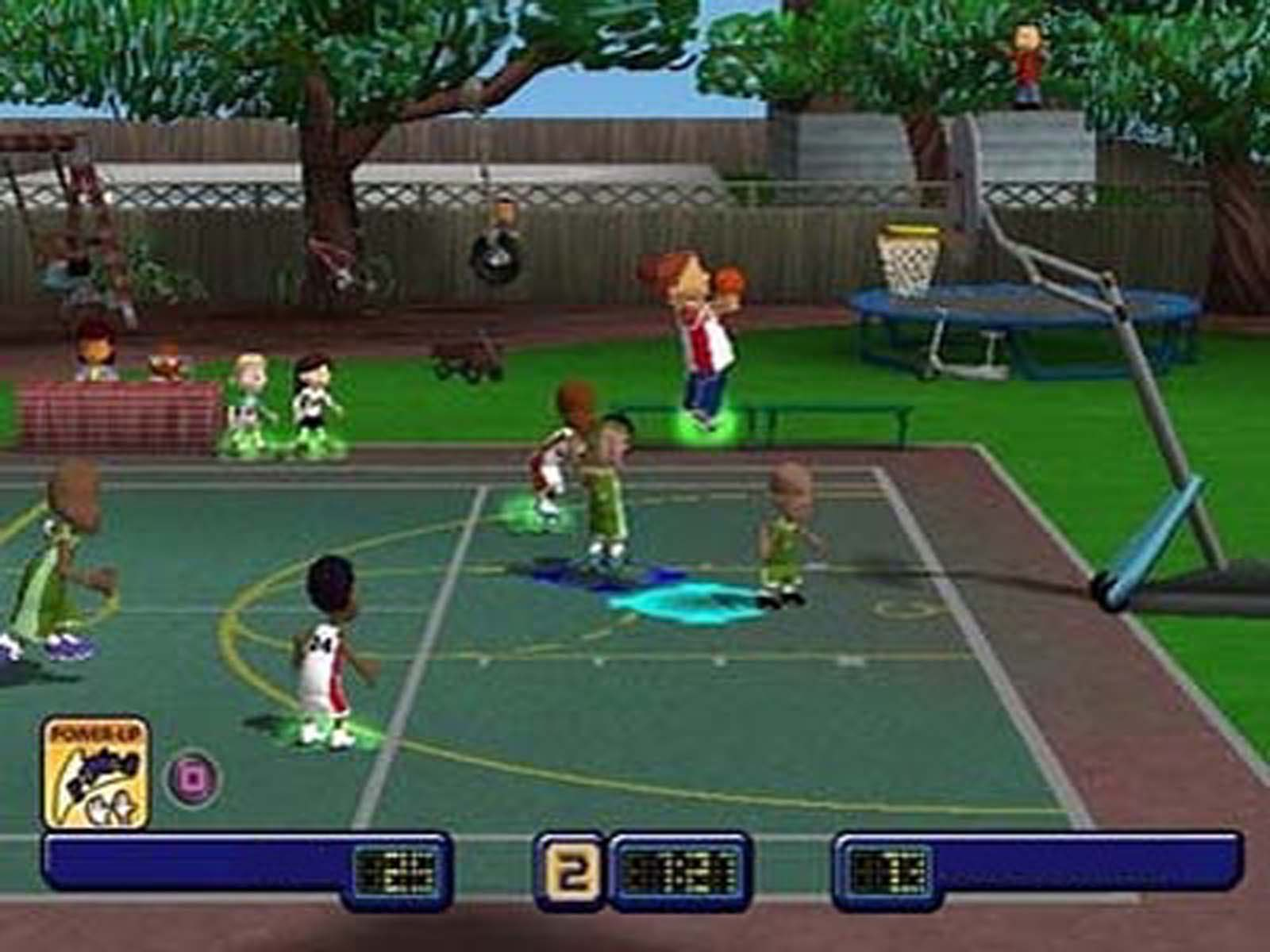 Screenshot Thumbnail / Media File 3 For Backyard Basketball (USA)
