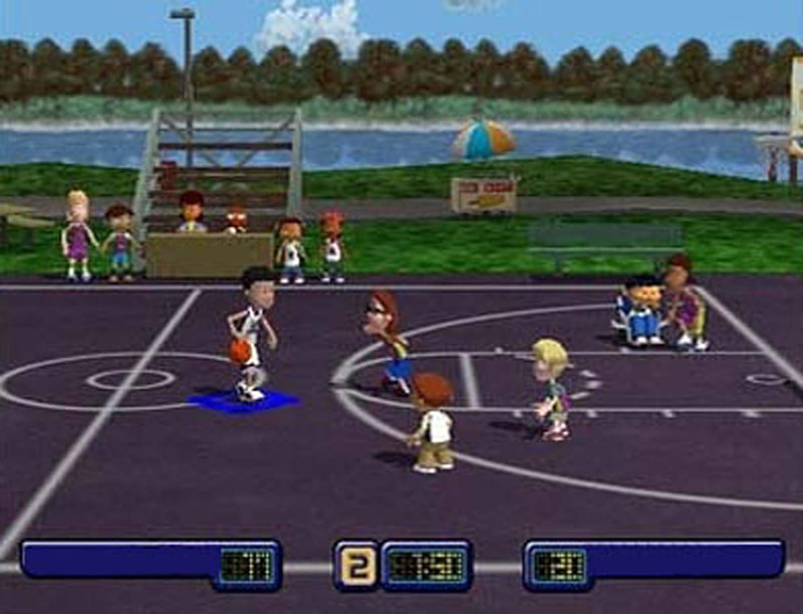 Screenshot Thumbnail / Media File 5 For Backyard Basketball (USA)