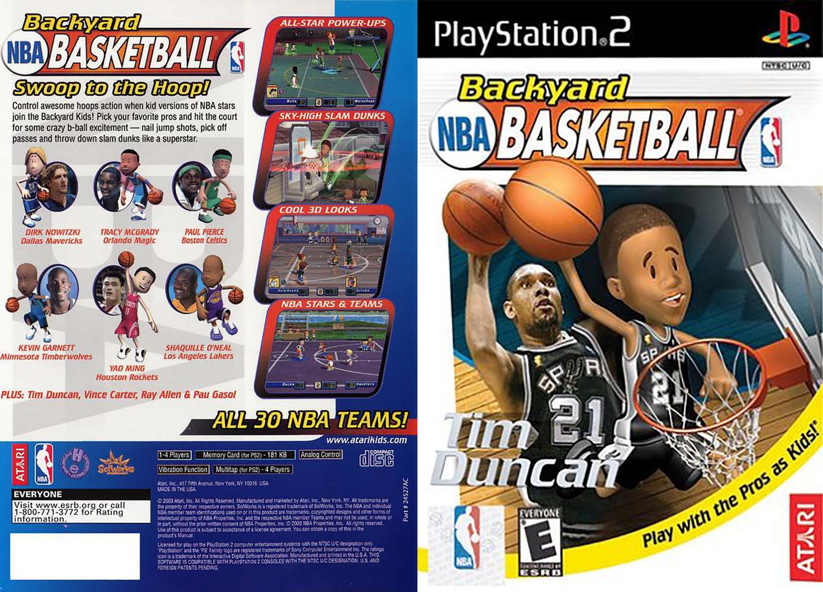 Attirant Screenshot Thumbnail / Media File 2 For Backyard Basketball (USA)