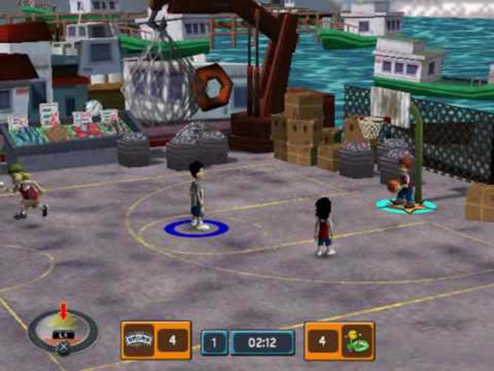 Beau Screenshot Thumbnail / Media File 2 For Backyard Sports   Basketball 2007  (USA)