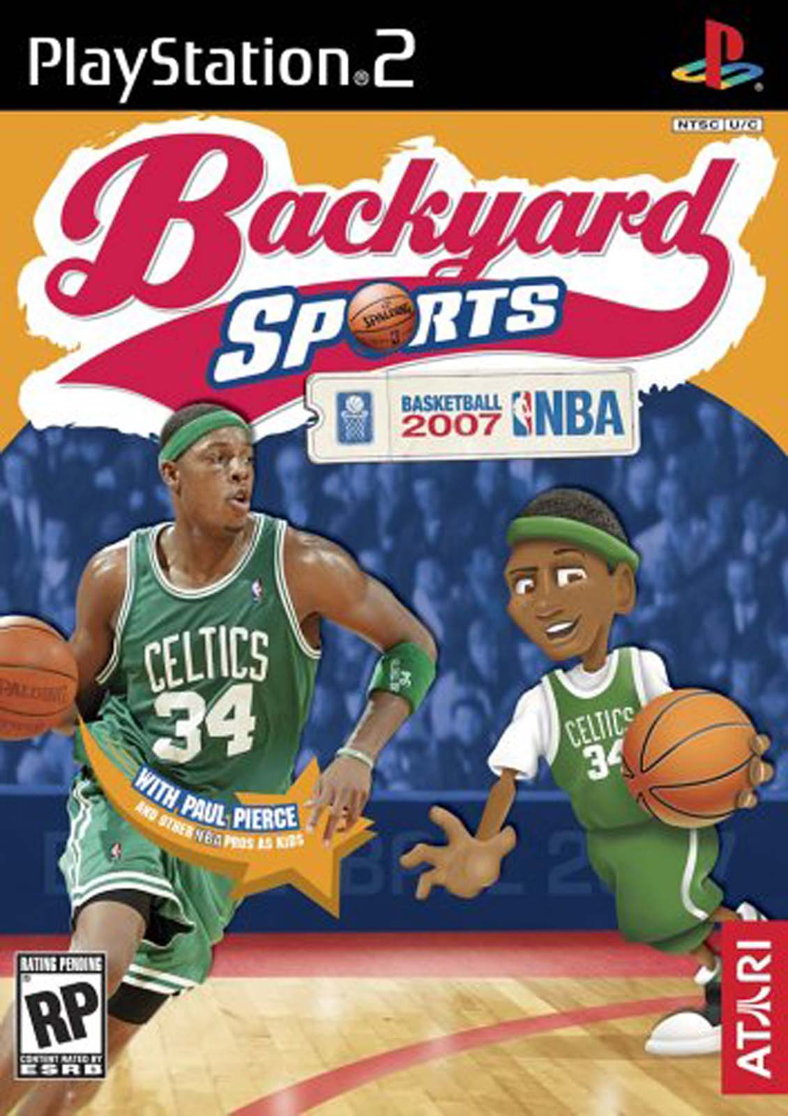Screenshot Thumbnail / Media File 1 For Backyard Sports   Basketball 2007  (USA)