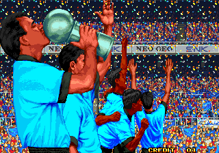 Screenshot Thumbnail / Media File 1 for Neo-Geo Cup '98 - The Road to the Victory