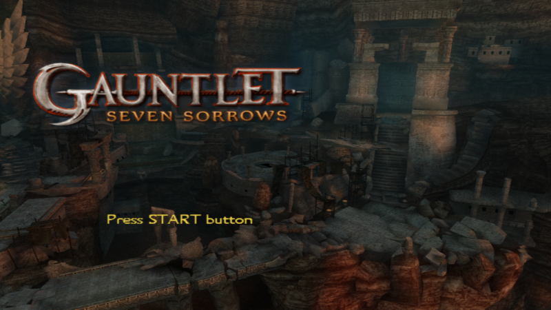 gauntlet seven sorrows para ps2