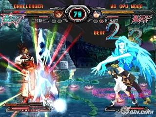 Screenshot Thumbnail / Media File 1 for Guilty Gear XX Accent Core Plus (USA)
