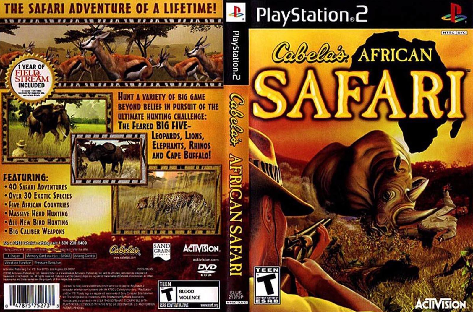 Cabela's african safari (usa) iso < ps2 isos | emuparadise.