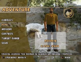Screenshot Thumbnail / Media File 1 for Cabela's Outdoor Adventures 2006 (USA)