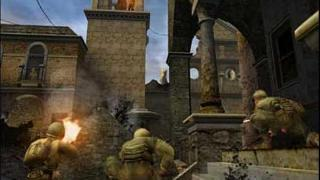 Screenshot Thumbnail / Media File 1 for Call of Duty 2 - Big Red One - Collector's Edition (USA)