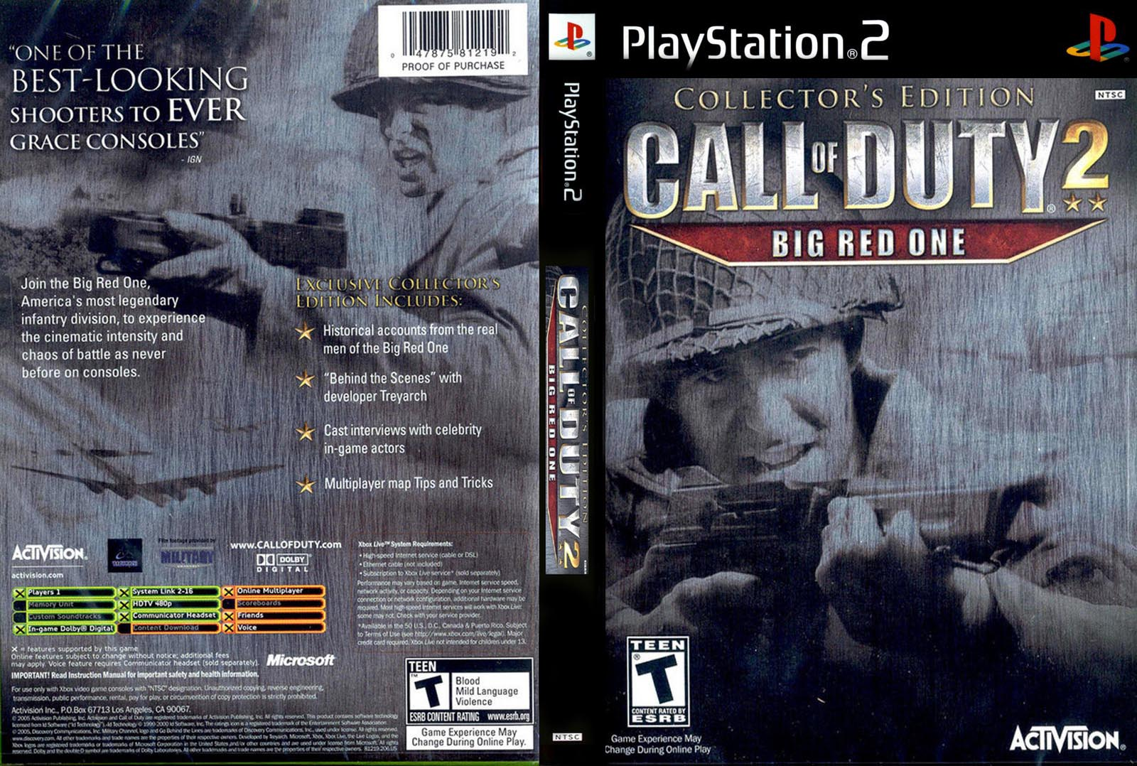 Call of Duty 2 - Big Red One - Collector's Edition (USA) ISO