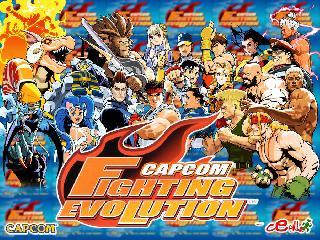 Screenshot Thumbnail / Media File 1 for Capcom Fighting Evolution (USA)