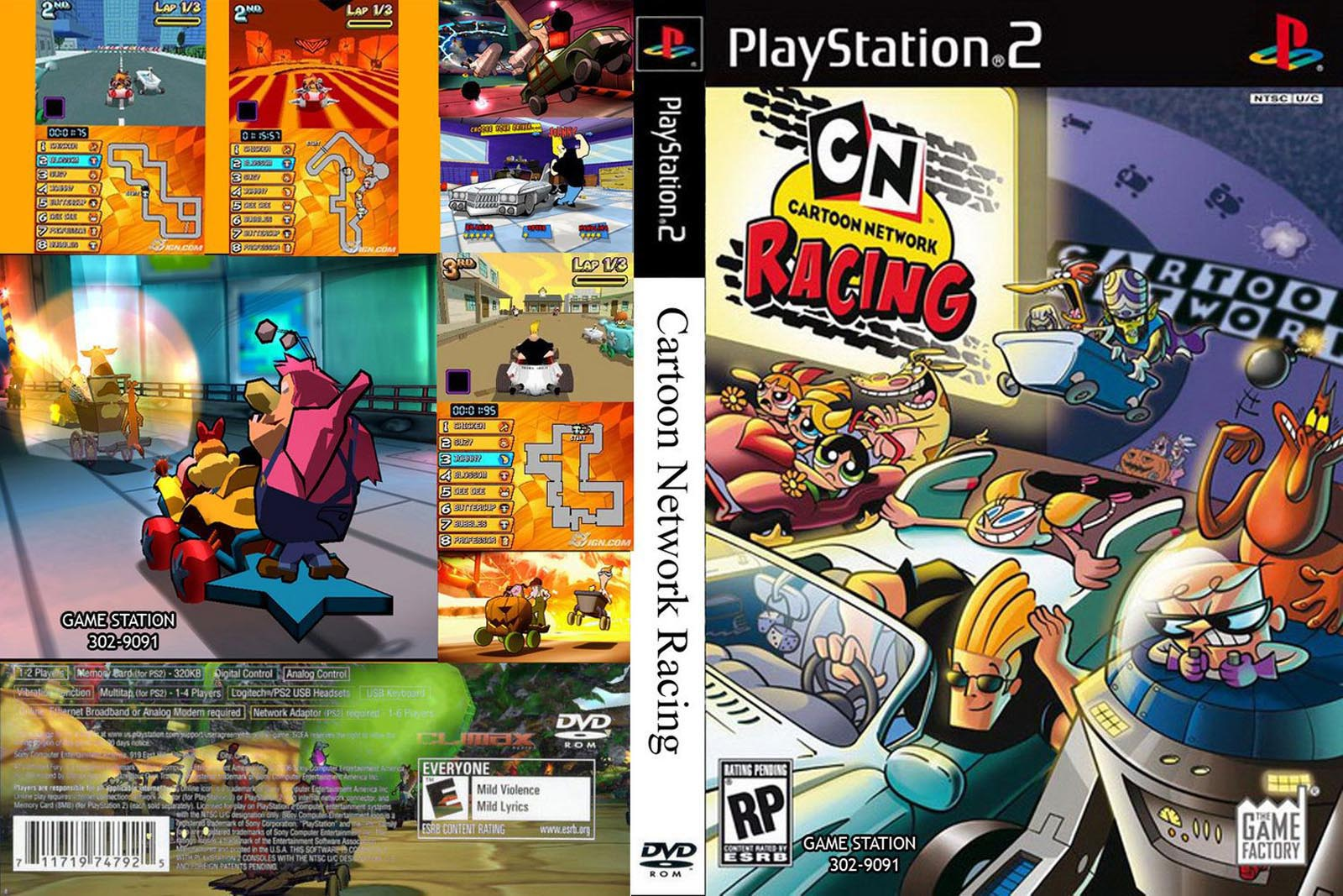 Cartoon Network Racing (USA) ISO < PS2 ISOs | Emuparadise
