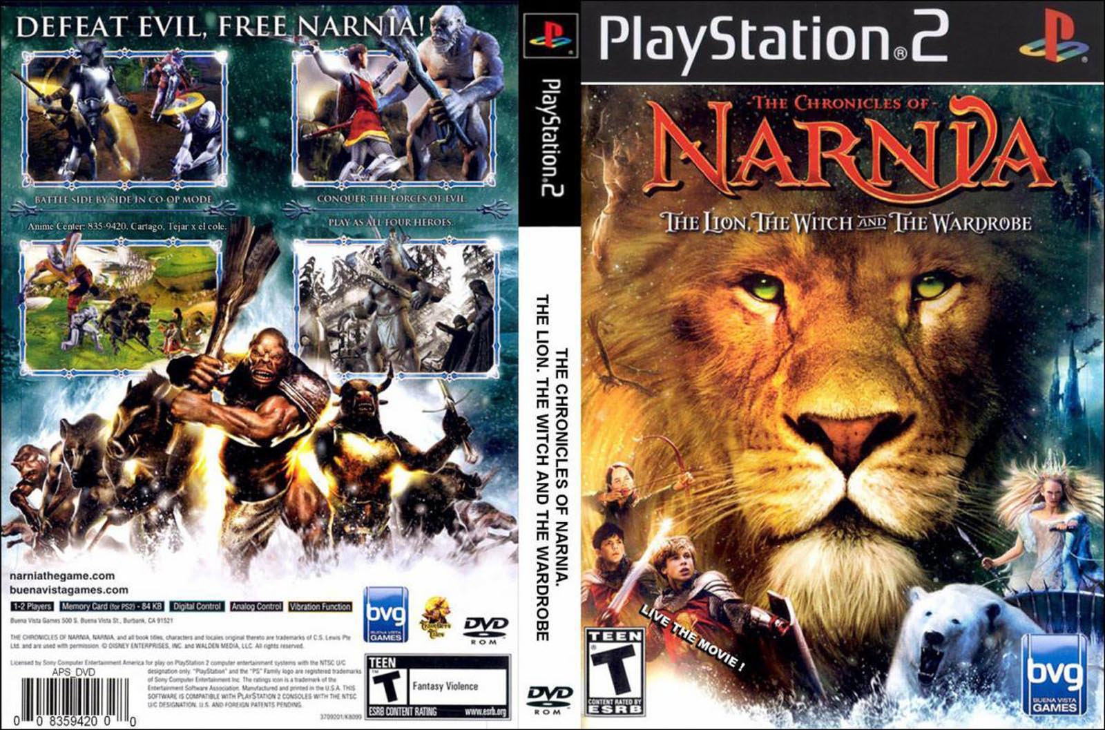 Chronicles Of Narnia The The Lion The Witch And The Wardrobe