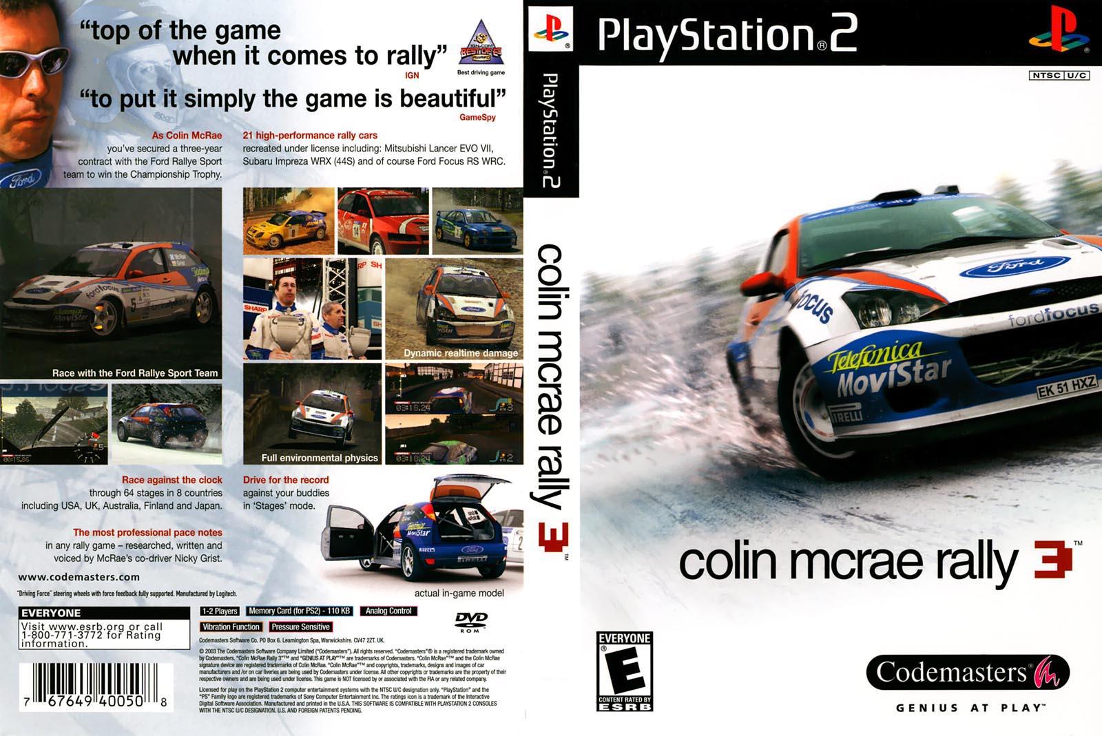 Colin McRae Rally 3 (USA) ISO