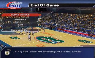 Screenshot Thumbnail / Media File 1 for College Hoops 2K6 (USA)