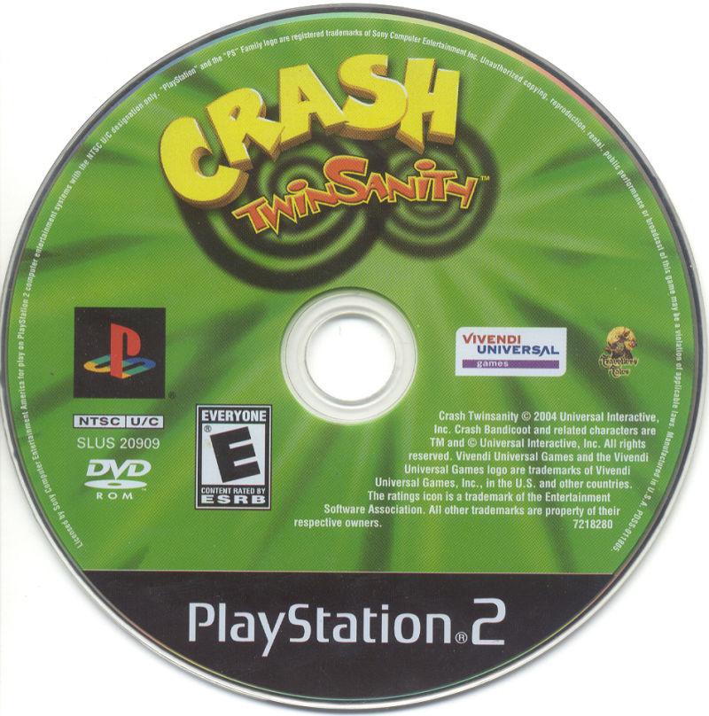 Crash Twinsanity (USA) ISO < PS2 ISOs | Emuparadise