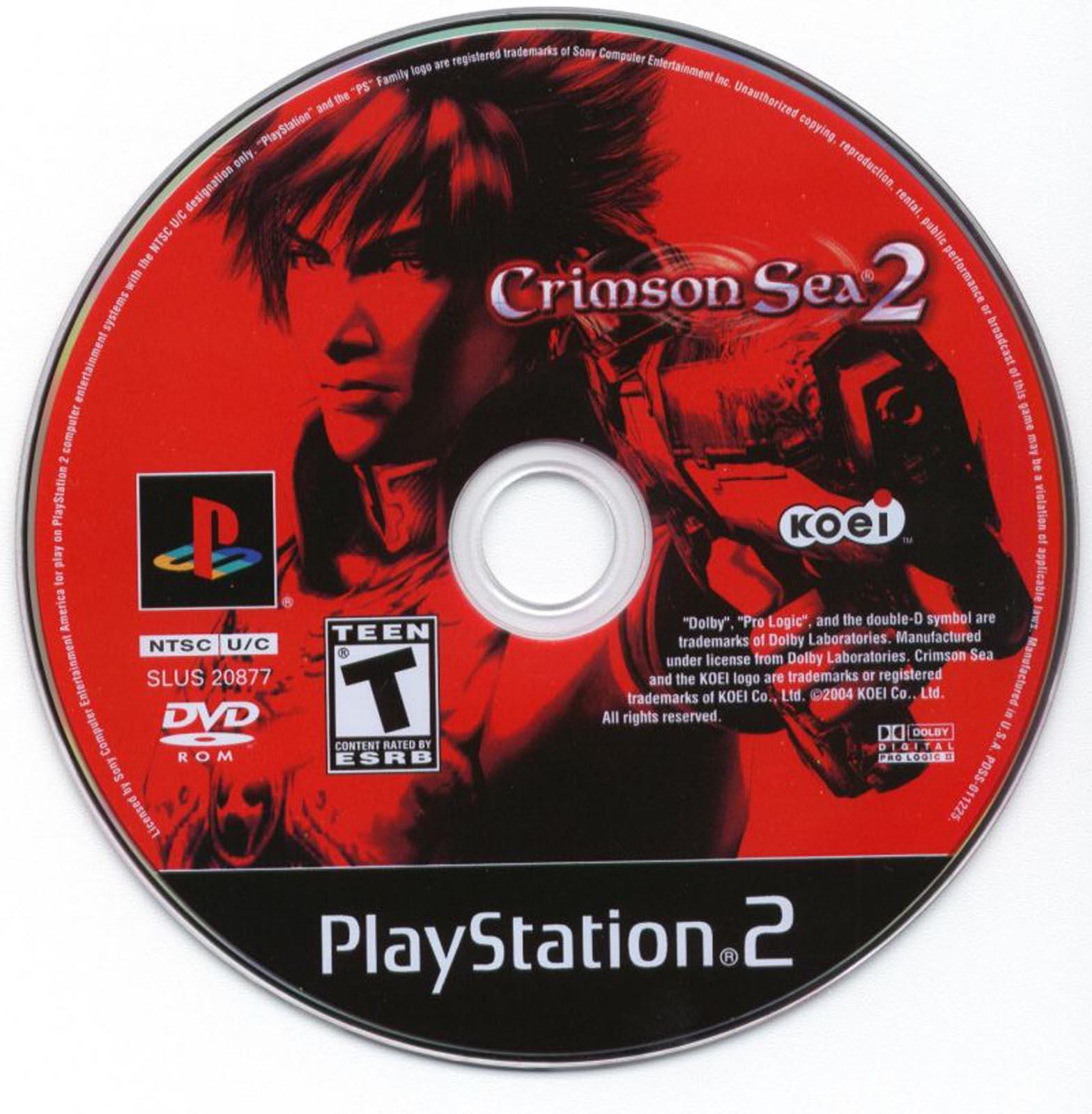 Crimson Sea 2 (USA) ISO < PS2 ISOs   Emuparadise