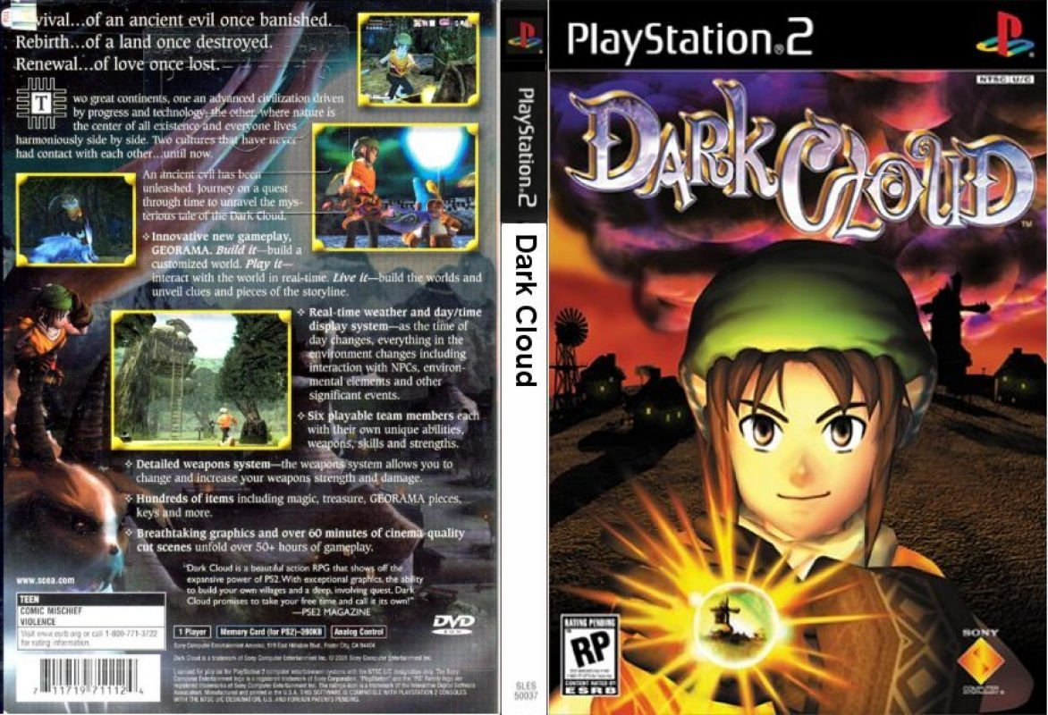 Dark Cloud (USA) ISO < PS2 ISOs | Emuparadise