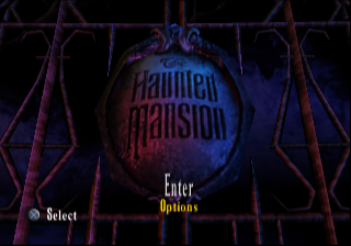 Screenshot Thumbnail / Media File 1 for Disney's The Haunted Mansion (USA)