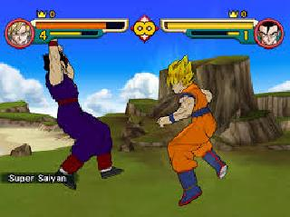 Screenshot Thumbnail / Media File 1 for DragonBall Z - Budokai (USA) (En,Ja)