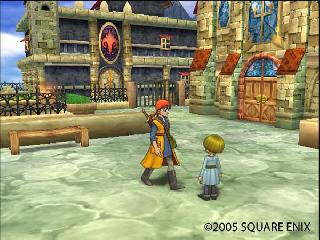 Screenshot Thumbnail / Media File 1 for Dragon Quest VIII - Journey of the Cursed King (USA)