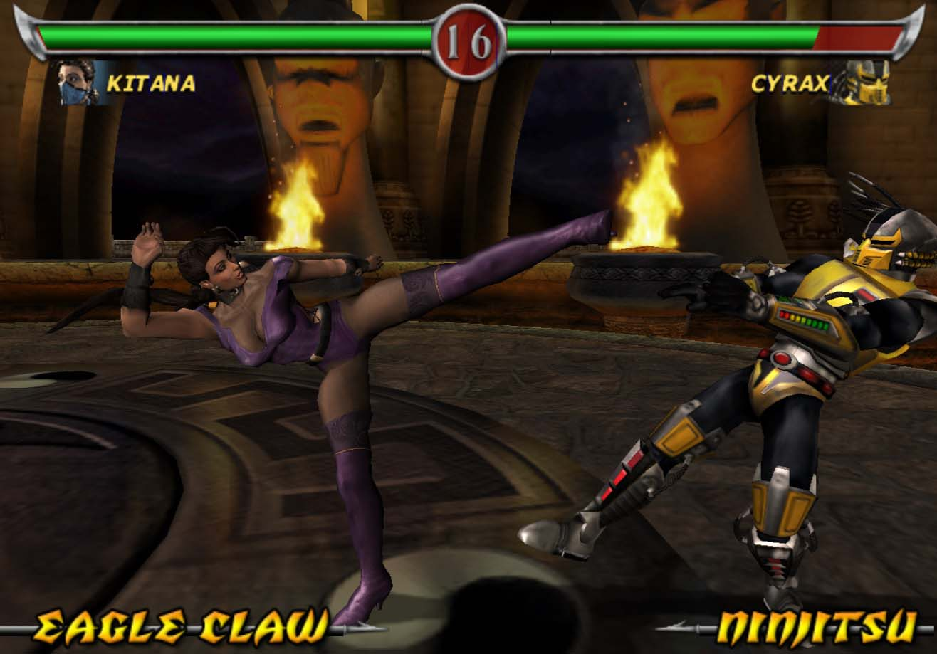 Screenshot Thumbnail / Media File 5 for Mortal Kombat - Deadly Alliance (USA)